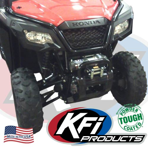 Warn Winches For Sale >> Honda Pioneer 500 Winch Mount - KFI ATV Winch, Mounts and Accessories