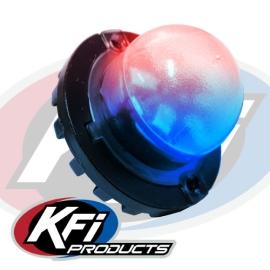 KFI LED Strobe Light (Red-Blue)