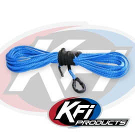 """15/64"""" Synthetic 38' ATV Winch Cable (Blue)"""