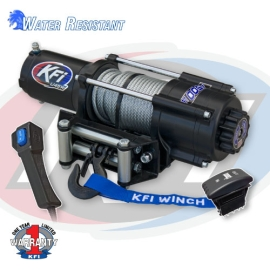4500lbs KFI UTV Winch (WIDE) U45w-R2