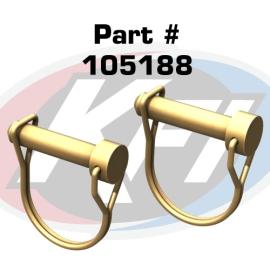 #105188 3/8 ATV Plow Pin