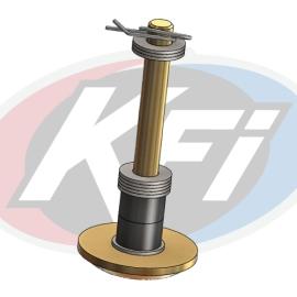 Single Plow Foot Replacement Kit