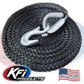 #101121-R UTV TigerTail 12' Rope (Black)