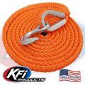 #41018-R UTV TigerTail 12' Rope (Orange)