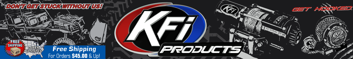 2500 LBS KFI ATV Winch - KFI ATV Winch, Mounts and Accessories