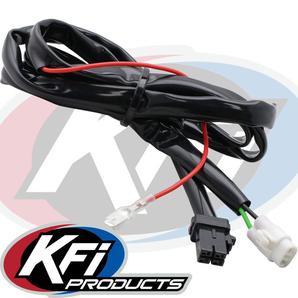 Polaris Quick Connect Handlebar Wire Harness - KFI ATV Winch, Mounts and  Accessories   Winch Harness      KFI Products