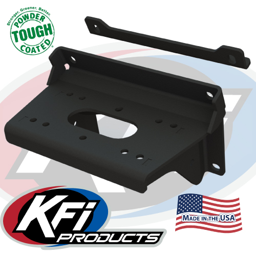 Winch For Kawasaki Mule